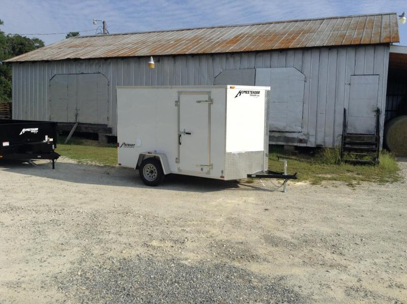 2018 Homesteader 6x10 Cargo Trailer