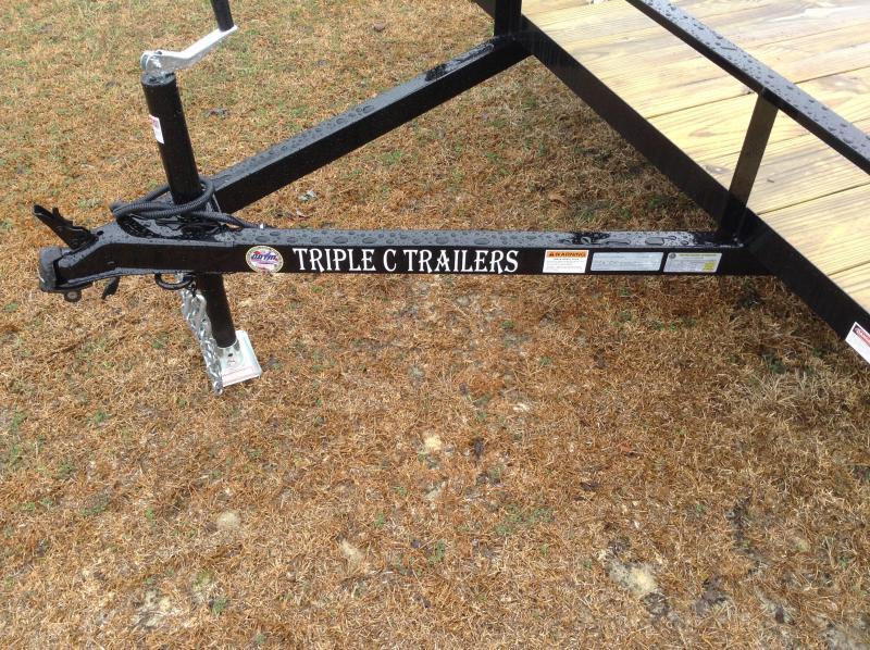 "2016 Triple C 6'10""x12' Utility Trailer W/Dovetail"