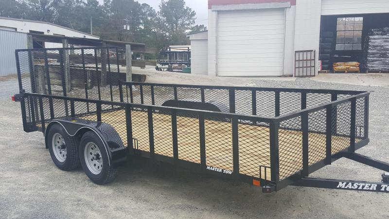 "2019 Master Tow 6-4x16' w/ 24"" Mesh Sides Utility Trailer"