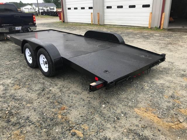 2019 Currahee C718DPF Car Hauler Trailer