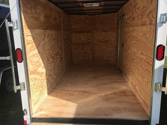 2019 Diamond Cargo 6'x12' Single Axle Enclosed Cargo Trailer