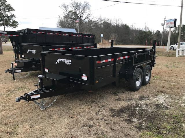 2018 Homesteader 7x14 HX Dump Trailer