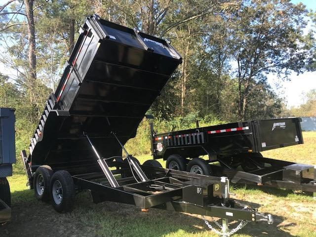 2019 Homesteader 7x14 HX Dump Trailer