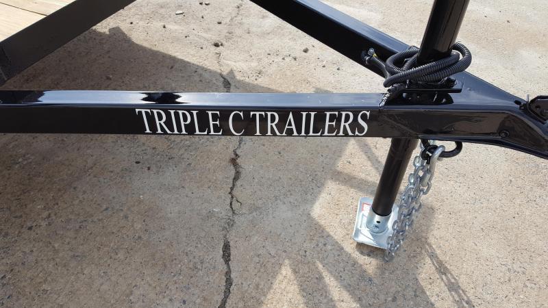 "2019 Triple C 6'4""x14' Utility Trailer"