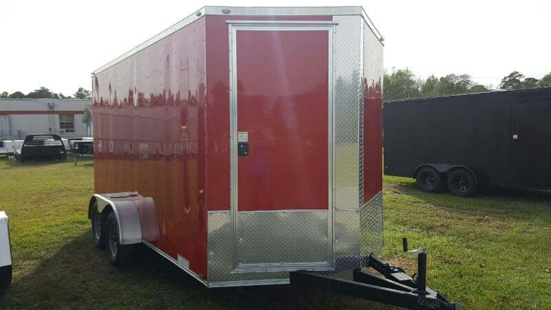 2019 Diamond 7x14 cargo Enclosed Cargo Trailer