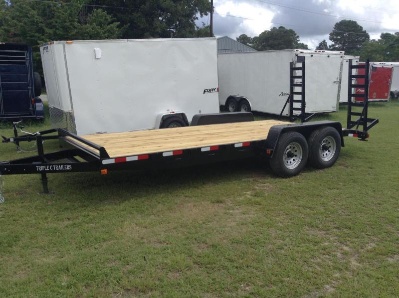 2017 Triple C 18ft 10k equipment