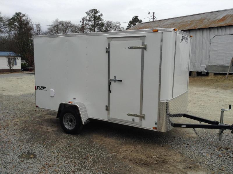 2016 Homesteader Fury 6x12 Cargo Trailer