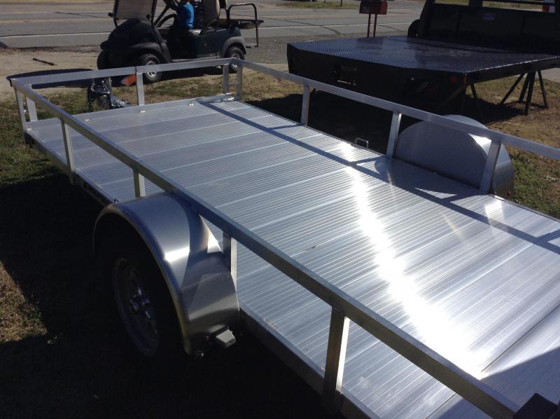2016 Homesteader Aluminator 6x12 Utility Trailer