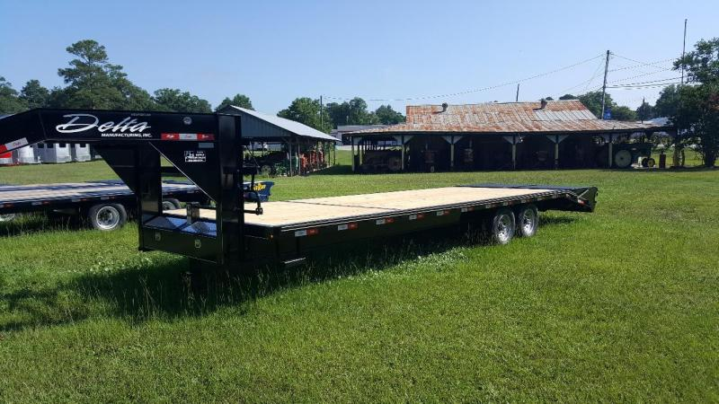 2019 Delta 28ft Equipment Trailer