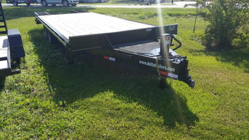 2019 Delta Manufacturing 24ft BP Flatbed Trailer