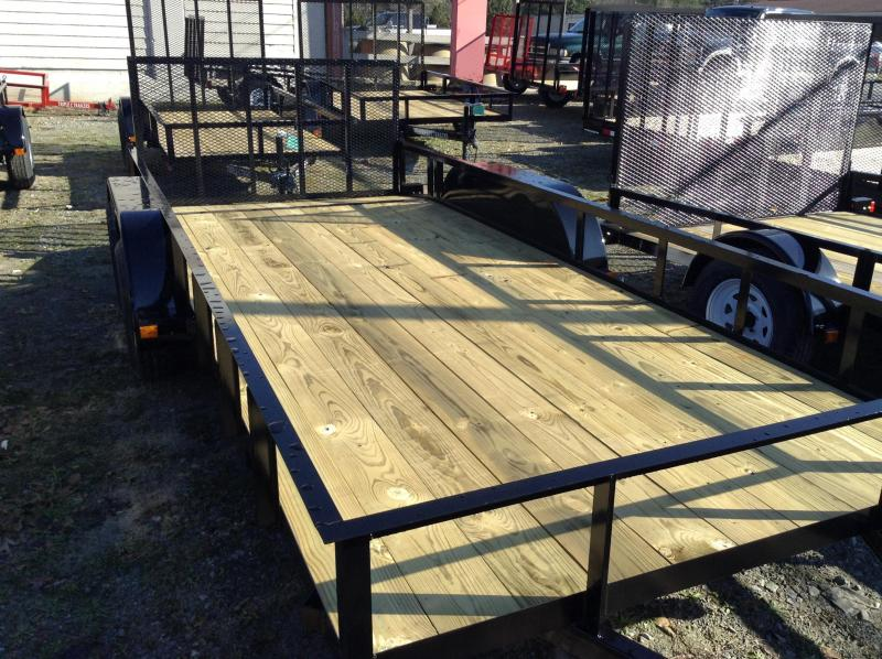"2018 Triple C 6'4""x16' Utility Trailer W/Dovetail"