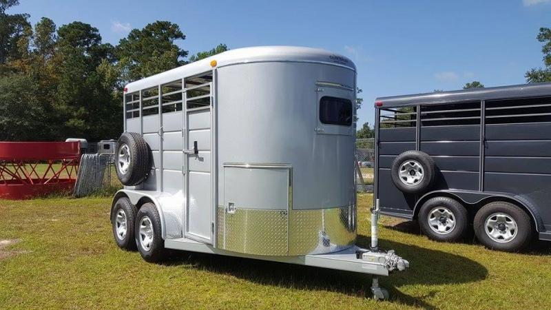 2018 Calico 2H Straight Load Horse Trailer