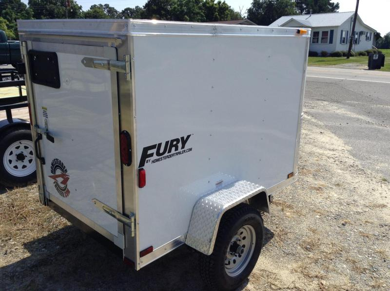 2017 Homesteader 4'x6' Fury Cargo Trailer