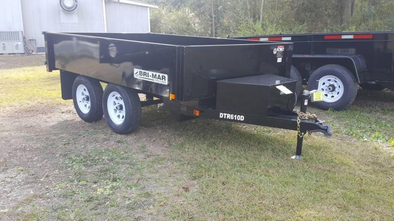 2019 Bri-Mar 6x10 Deck Over 10k Dump Trailer