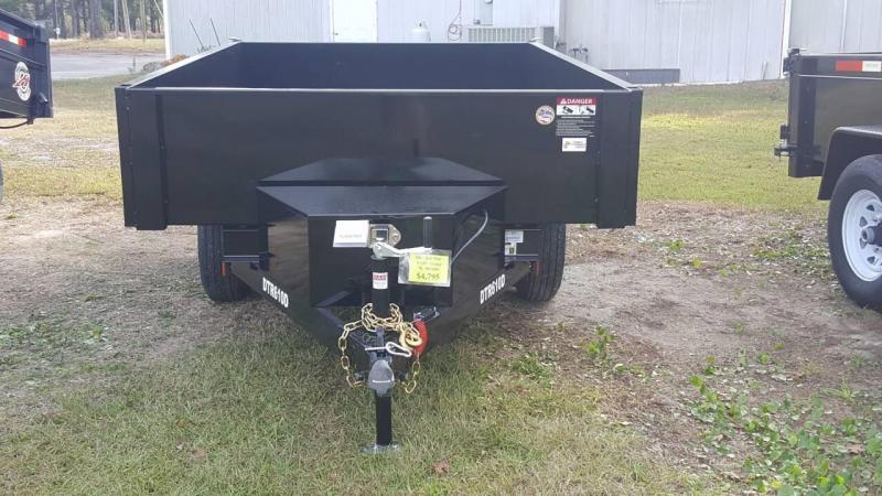 2019 Bri-Mar 6x10 Deck Over 10k Dump Trailer