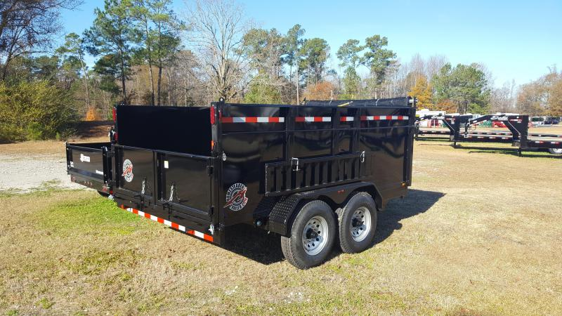 2018 Homesteader 7x12HX Dump Trailer with High sides.