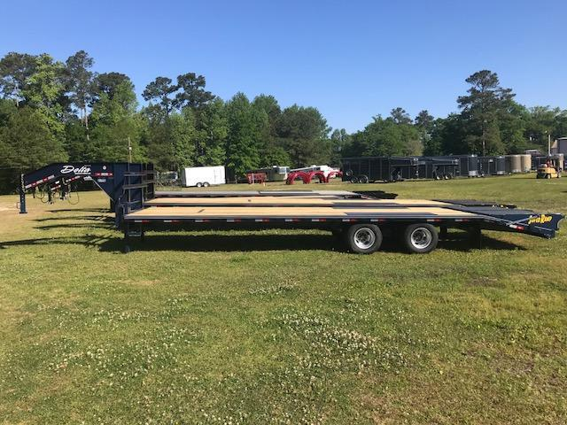 2018 Delta 30ft Equipment Trailer