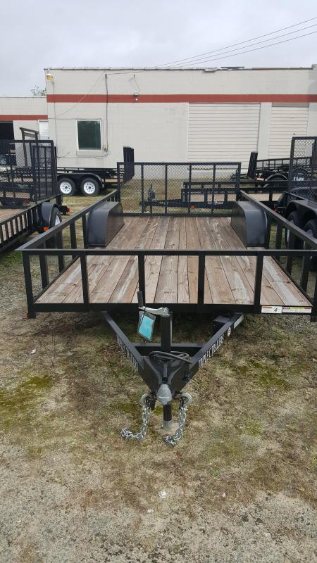 2018 Triple C 7x16 Low Profile Utility Trailer