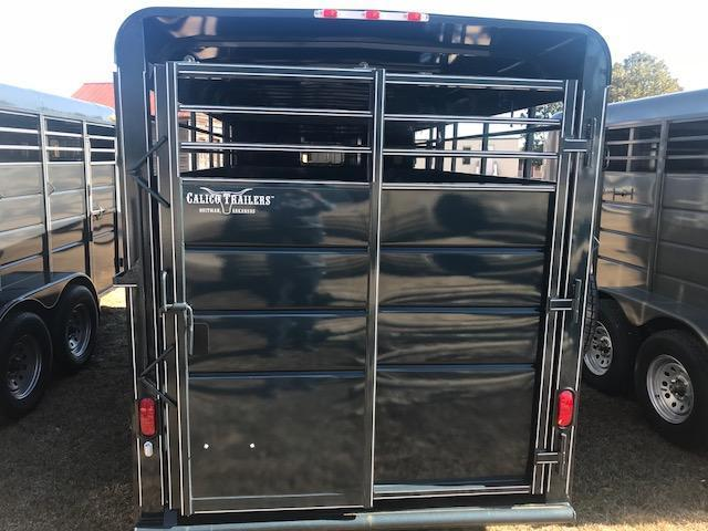 2018 Calico 16ft Stock Trailer