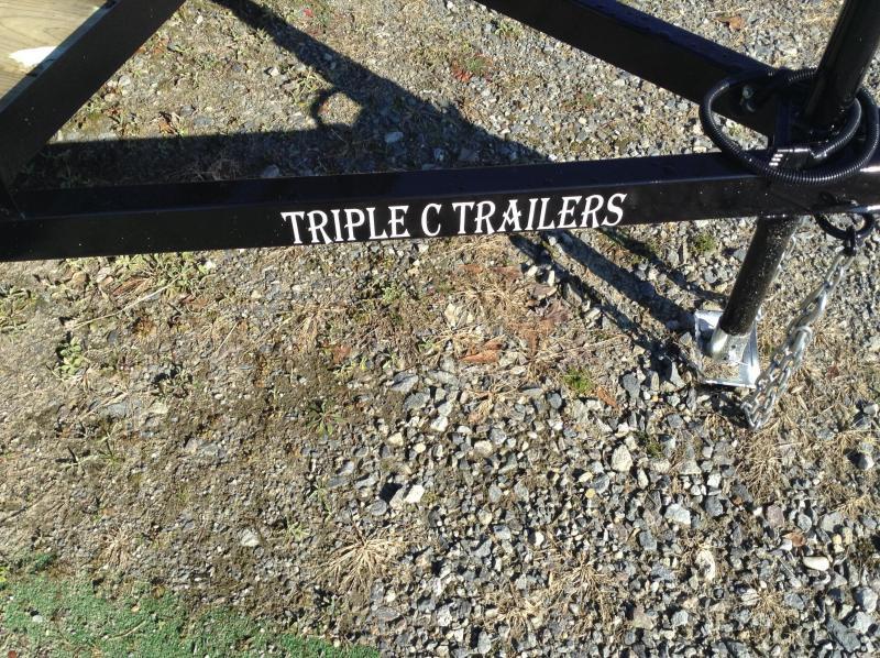 """2016 Triple C 6'10""""x12' Landscape Utility Trailer"""