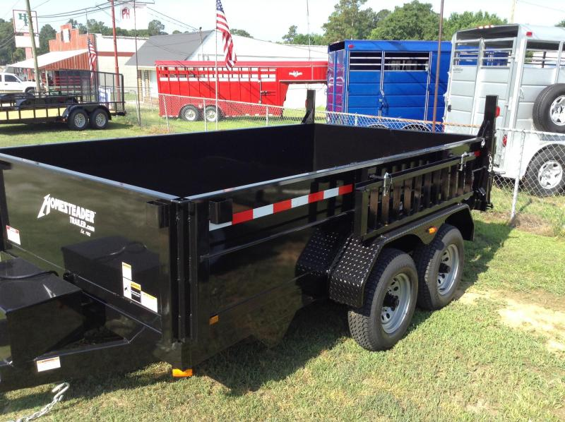 2017 Homesteader Inc. 7x12 Dump Trailer