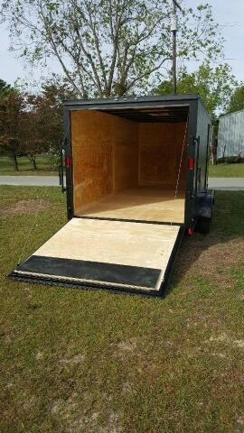 2019 Diamond Cargo 7x16 Blackout Enclosed Cargo Trailer