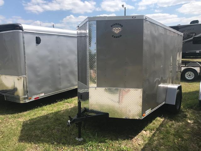 2018 Diamond Cargo 6x10 Cargo Trailer