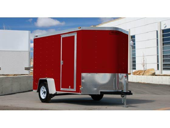 2016 Haulmark TSTV6X10DT2 Enclosed Cargo Trailer