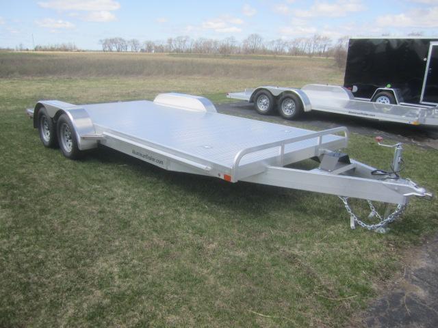 Aluminum Car Trailers : Atc all aluminum car hauler custom enclosed