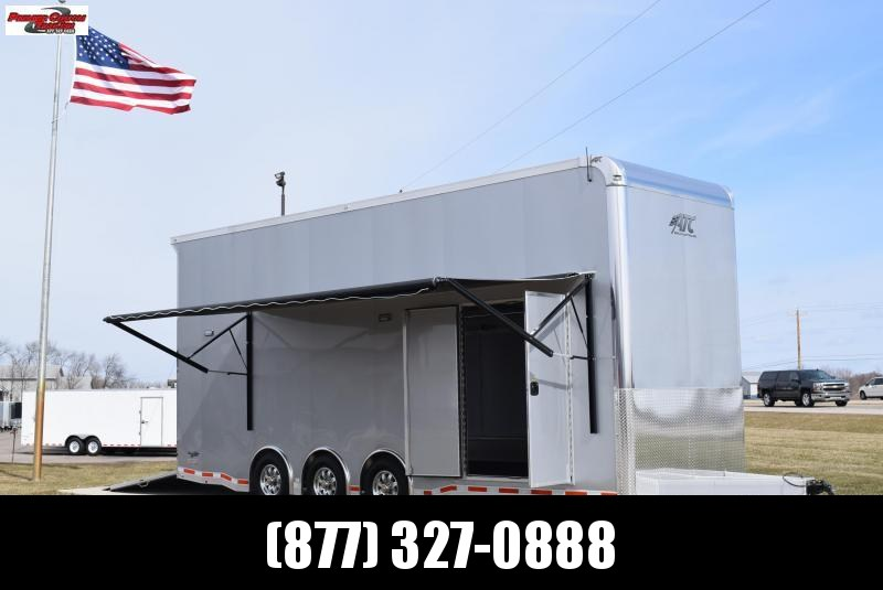 2018 ATC QUEST 26' STACKER ALL ALUMINUM RACE HAULER