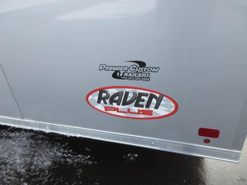 2018 ATC 28 ft RAVEN PLUS SERIES ALL ALUMINUM CAR HAULER