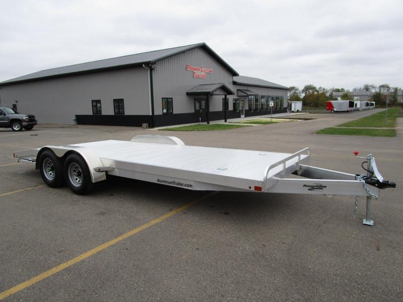 Open Car Haulers | Custom Enclosed and Open Trailers