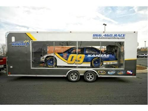 ATC ALL ALUMINUM LEXAN SIDED SHOW TRAILER Custom Enclosed And - Show car trailer