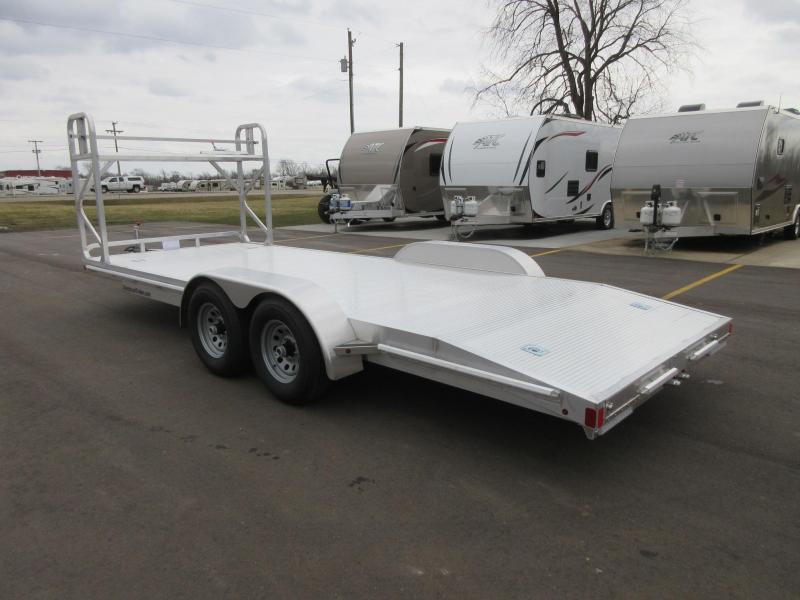 Aluminum Enclosed Car Hauler Trailer For Sale