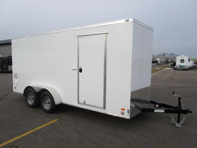 2017 Bravo 7x16 Scout Enclosed Cargo Trailer
