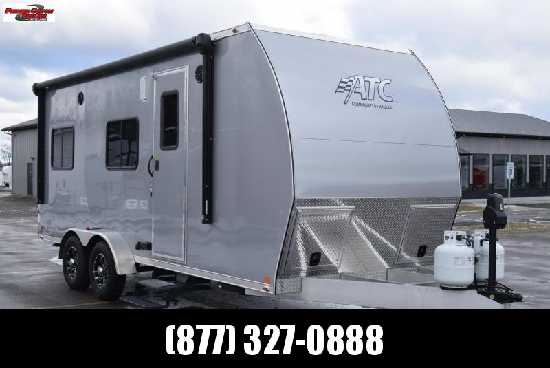 USED 2016 ATC ALL ALUMINUM 7x20 TOY HAULER