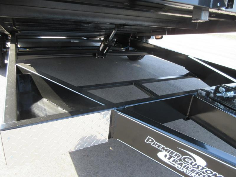 2018 Nation Tilt Bed Open Car Hauler W Hydraulic Dampening