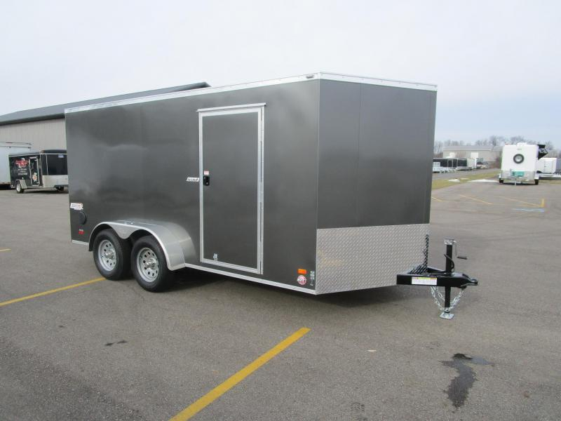 2017 Bravo 7x14 Scout Enclosed Cargo Trailer