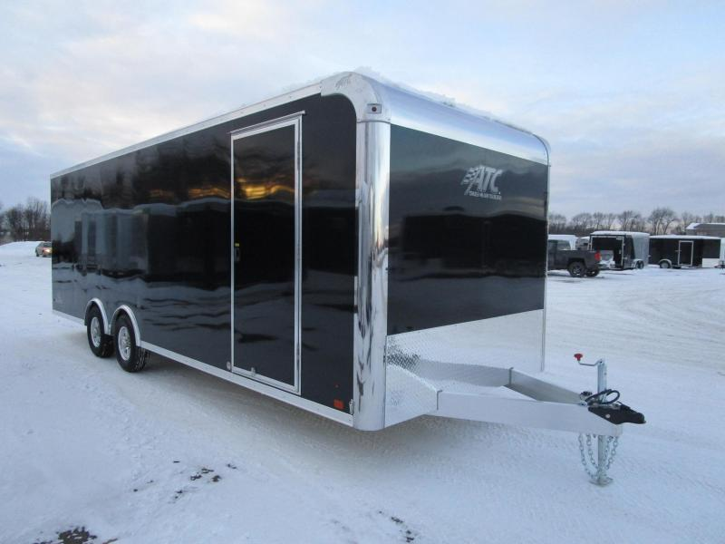 2018 ATC ALL ALUMINUM 8.5x24 RAVEN CAR HAULER