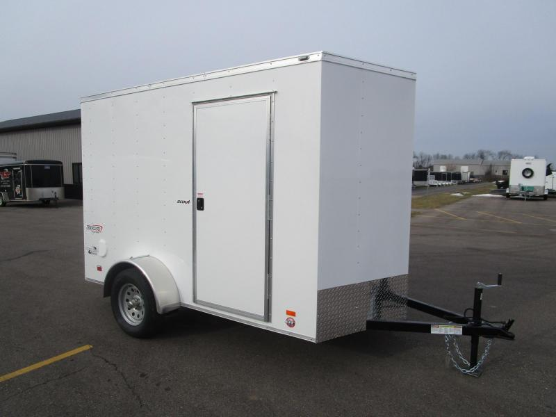 2017 Bravo 6x10 Scout Enclosed Cargo Trailer