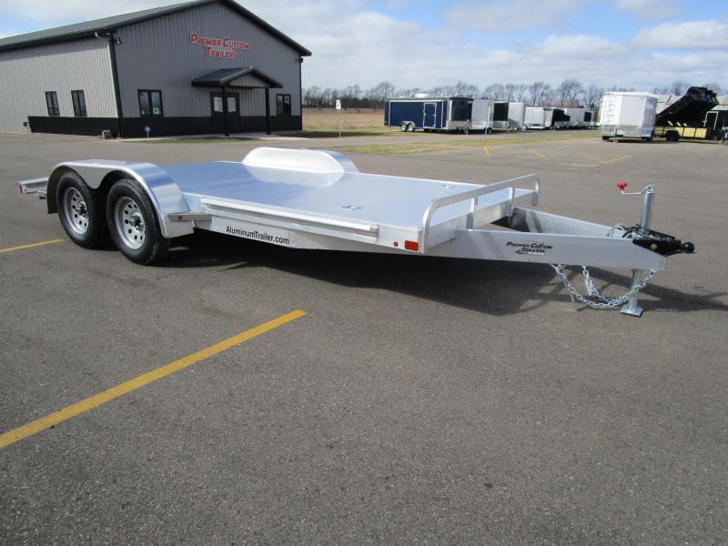 Aluminum Car Trailers : Flatbed trailers for sale in mi trailersmarket