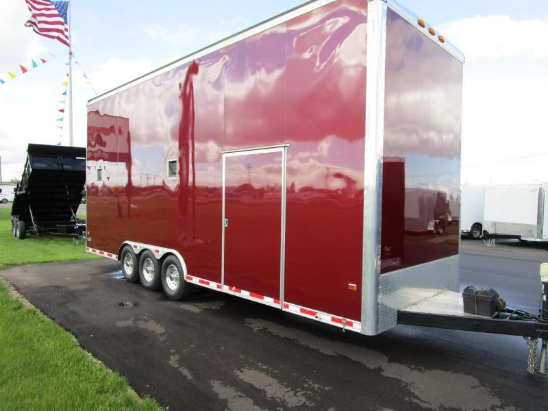 2006 CLASSIC 26' STACKER RACE HAULER - CLEAN!