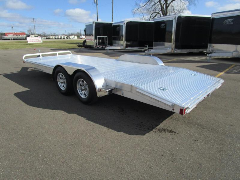 Aluminum Car Trailers : Atc all aluminum open car hauler custom