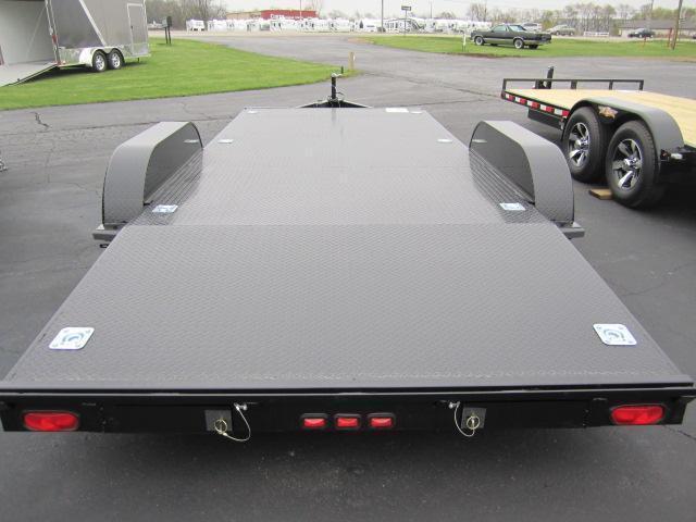2018 Nation 18 Econo Open Car Hauler Custom Enclosed Cargo