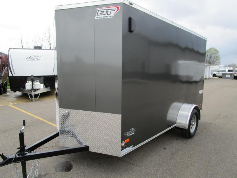 2017 Bravo 6x12 Scout Enclosed Cargo Trailer