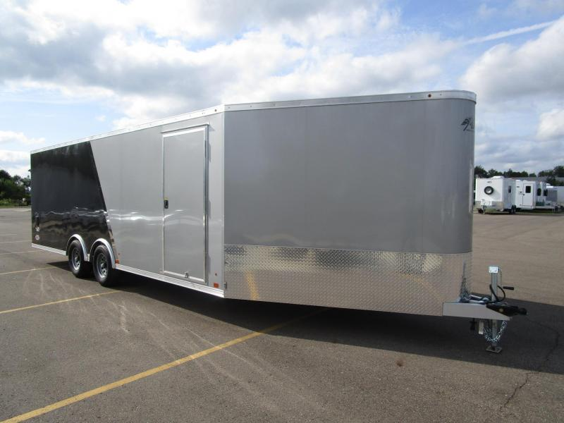 2017 ATC 28' ALLSPORT ALL ALUMINUM CAR/SNOWMOBILE HAULER
