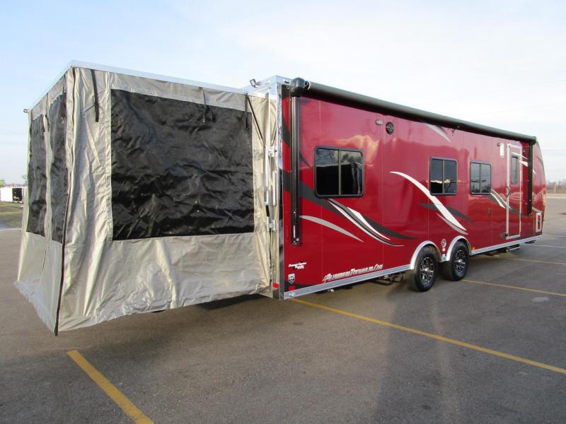 2018 Atc All Aluminum 8 5x28 Toy Hauler W Rear Patio