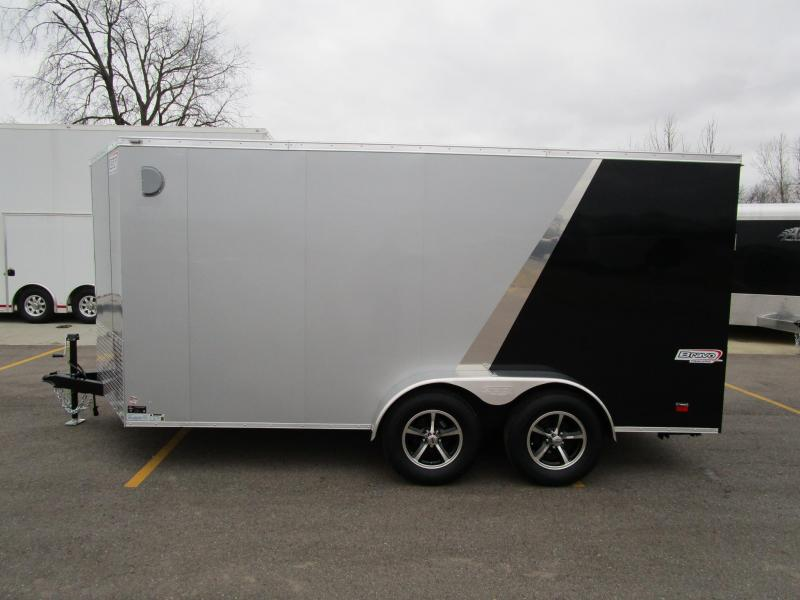 2017 Bravo 7x14 Scout Enclosed Motorcycle Trailer