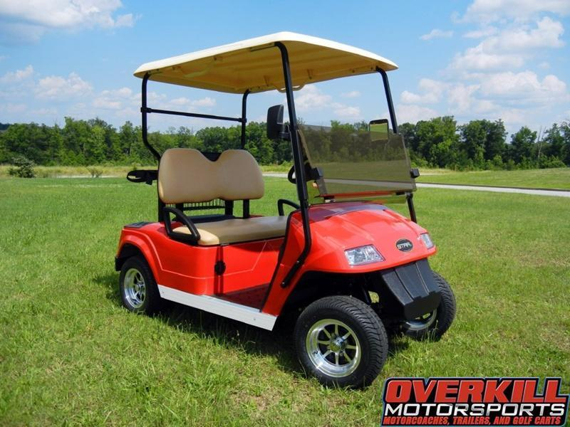 2018 STARev Classic 36v Electric Golf Cart 2-Passenger