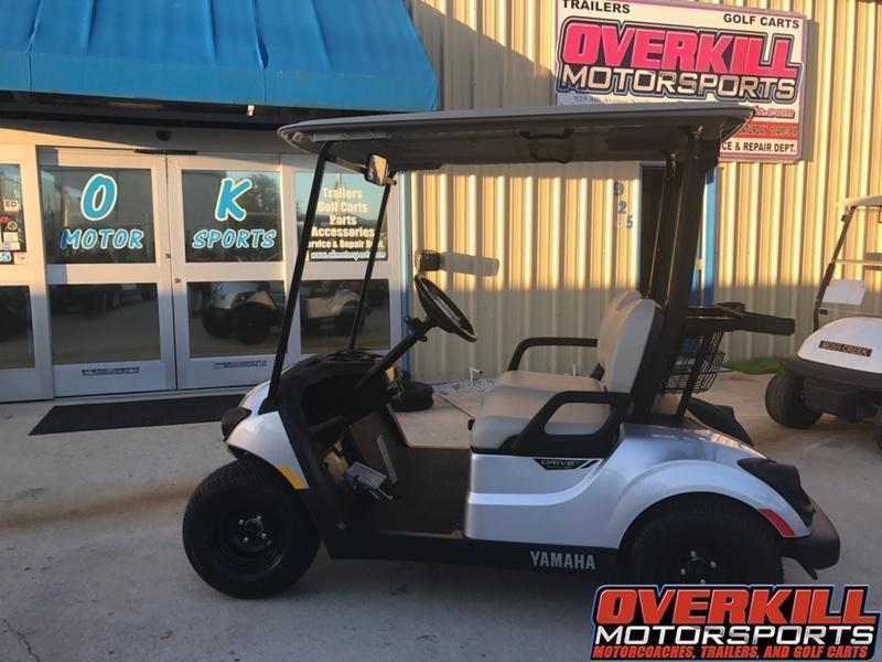 2018 Yamaha Drive2 PTV Quietech Gas Golf Cart EFI 2-Passenger